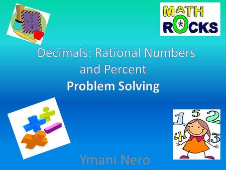Ymani Nero. (2) Number and operations. The student applies mathematical process standards to represent and compare whole numbers, the relative position.