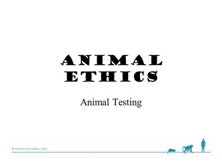 ethics of animal testing Europe, the world's largest cosmetic market, israel and india have already banned animal testing for cosmetics people for the ethical treatment of animals.