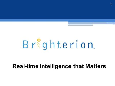 Real-time Intelligence that Matters 1. © 2015, Brighterion Inc. (all rights reserved) Keeping an eye on your business 53% of consumers who experienced.