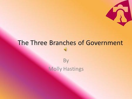 The Three Branches of Government By Molly Hastings.