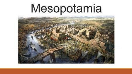 Mesopotamia. The Land Between Two Rivers Mesopotamia (between the rivers) is a region in SW Asia Tigris and Euphrates Rivers Rich soil Drew people in.