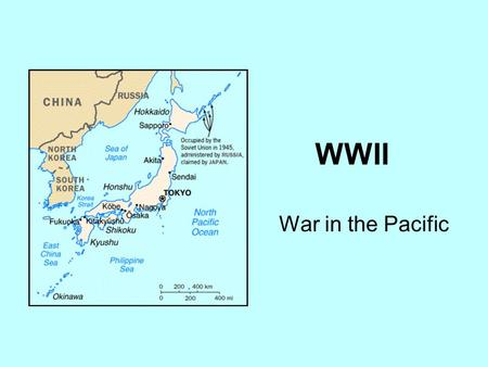 WWII War in the Pacific. Japan Rising December 7, 1941 at 7:55 a.m. – Japan successfully bombed Pearl Harbor. The attack was a complete surprise to the.