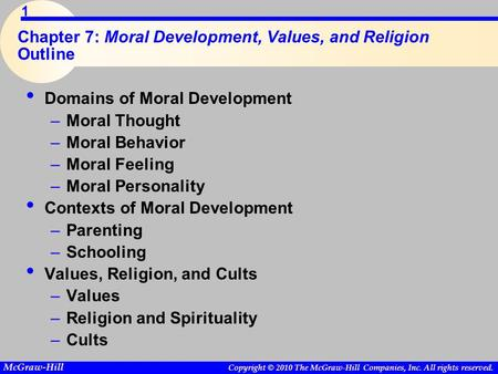 chapter 13 moral development values and religion Of social and moral development god in order to be moral and have good values one chapter on each sociologist of religion but that his own.