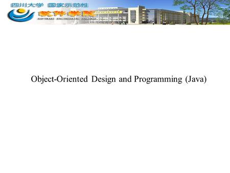Object-Oriented Design and Programming (Java). 2 Topics Covered Today 2.1 Implementing Classes –2.1.3 Method equals and Method toString –1.2.6 Implementing.
