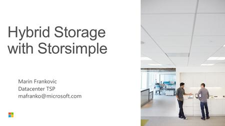 Storage challenges Storage Today = Complex & Expensive Storage cost and infrastructure sprawl Complex data protection & recovery Resource constraints.