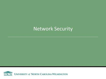 Network Security. Announcements Review Assignment - Assessment 3 (due Tuesday, before class) Assessment 3 – Next Thursday Reminders: Network Design Project.