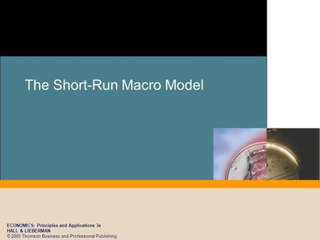 ECONOMICS: Principles and Applications 3e HALL & LIEBERMAN © 2005 Thomson Business and Professional Publishing The Short-Run Macro Model.
