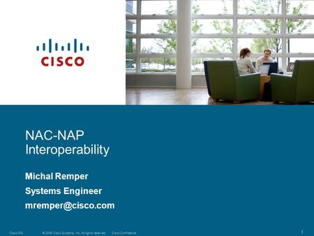NAC-NAP Interoperability