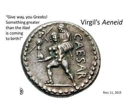a comparison of homers iliad and virgils aeneid Free trojan war a comparison of homers iliad and virgils aeneid papers essays and research papers.