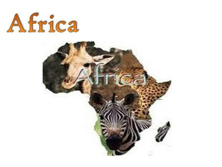 Africa What I know about Africa What I want to learn About Africa What I learned about Africa.