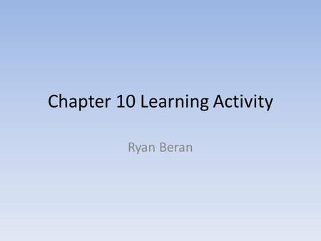 Chapter 10 Learning Activity Ryan Beran. Idea Generation Competitive Products – Other Apple products – MP3 players IPod Necklace.