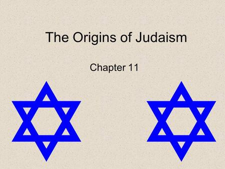 The Origins of Judaism Chapter 11. Torah Judaism's most sacred text, consisting of the first five books of the Hebrew Bible.