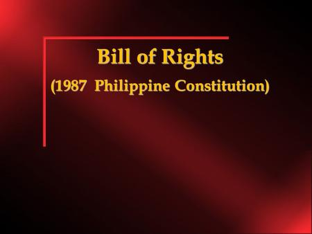 "Bill of Rights (1987 Philippine Constitution). Article-III, Section-3 ""The Privacy of communication and correspondence shall be inviolable except upon."