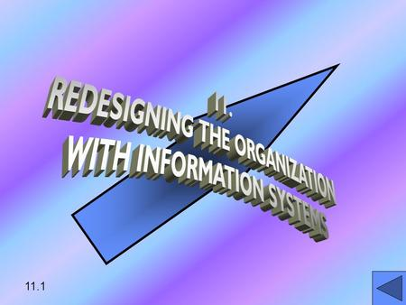 11.1 LEARNING OBJECTIVES EXPLAIN HOW ORGANIZATION CAN DEVELOP SUITABLE INFO SYSTEMSEXPLAIN HOW ORGANIZATION CAN DEVELOP SUITABLE INFO SYSTEMS IDENTIFY.