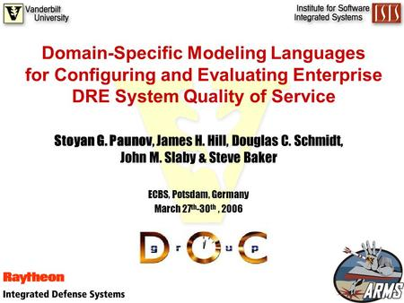 Writing Your First Domain Specific Language, Part 1 of 2