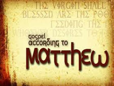"Matthew, the man Know very little ""Gift of God Son of Alphaeus"