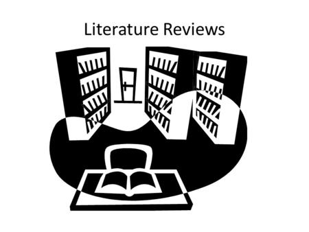 Literature Reviews. Why? Provide you with background information Provide you with a theoretical base Helps clarify/sharpen your problem Provide you with.