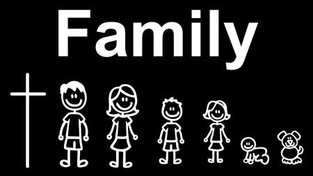 "Be That Family. No Perfect Families Your family should not be measured by ""perfect images,"" but by how you respond to the imperfect reality of life."
