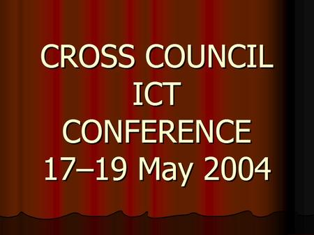 Cross Council ICT Conference for e-Science & GRID Roger Gillam Director, BBSRC Bioscience IT Services Introduction.