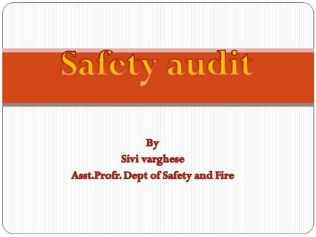 Audit is a systematic and, wherever possible, independent examination to determine whether activities and related results conform to planned arrangements.