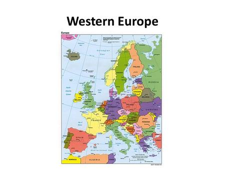 Western Europe. Europe 1.Europe is the world's 6 th largest continent, making up 2% of the earth's surface. 2.Europe is the 3 rd most populous continent,