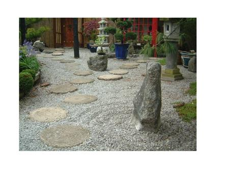The Japanese Rock Gardens or dry landscape gardens, often called Zen gardens, are a type of garden that features extensive use of rocks or stones,
