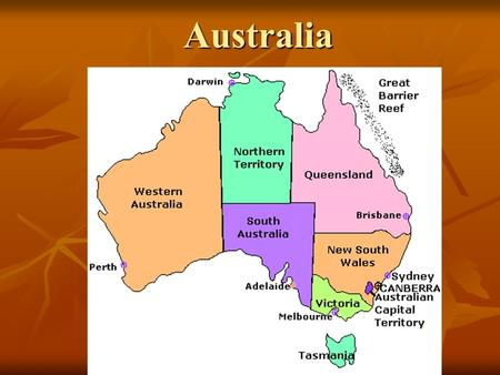 Australia. Australia Australia is a country and continent. Australia is a country and continent. It is one of the largest countries on EARTH! It is one.