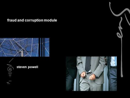 fraud and corruption module