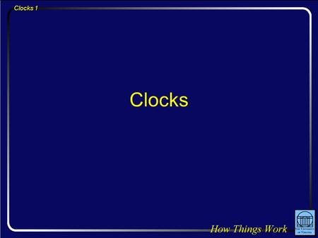 Clocks 1 Clocks. Clocks 2 Question: You're bouncing gently up and down at the end of a springboard, without leaving the board's surface. If you bounce.