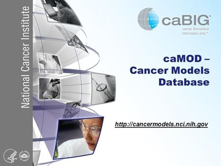 CaMOD – Cancer Models Database