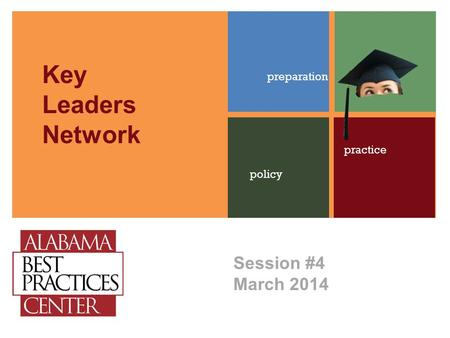 Session #4 March 2014 preparation policy practice Key Leaders Network.