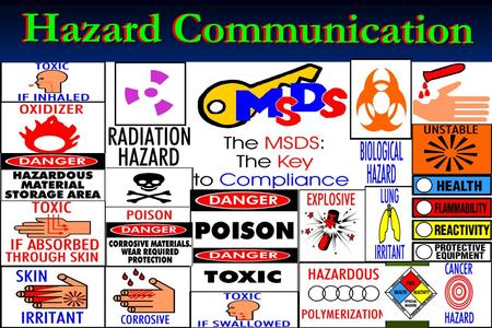 Hazard Communication. Introduction/Overview The OSHA Hazard Communication Standard The OSHA Hazard Communication Standard The Components Of The HazCom.