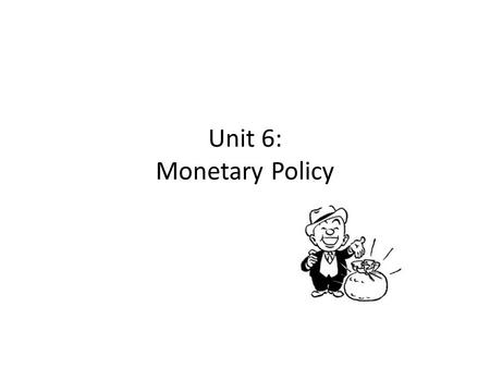 Unit 6: Monetary Policy. Jump to first page Copyright (c) 2000 by Harcourt Inc. All rights reserved. The New Classical View of Fiscal Policy.