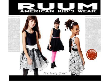 WHO ARE WE? RUUM is one of Americas top providers of kids wear. We are dedicated to bringing quality clothes for the younger family members at reasonable.