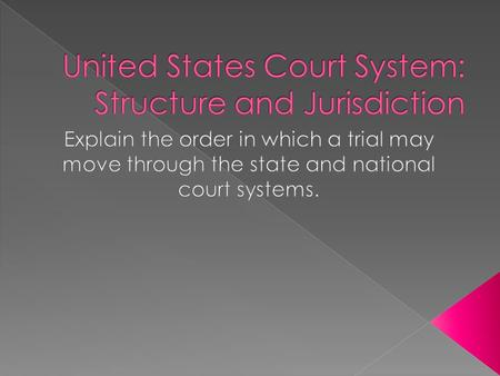  The United States has an adversarial court system. › This means that two opposing sides must argue their cases before a judge in order to find the truth.
