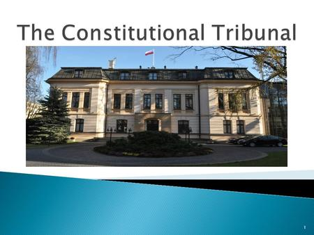 1. common courts military courts administrative courts tribunals The Supreme Court The Supreme Administrative Court The Constitutional Tribunal and The.
