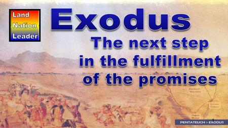 1. 2 How Exodus comes 400 years after Genesis, yet never misses a beat of the song.How Exodus comes 400 years after Genesis, yet never misses a beat of.