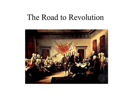 The Road to Revolution. The Problem of Empire Imperial Financial Strain Military Challenges Resentments Indian Relations –Cherokee War (1759-1761) –Pontiac's.
