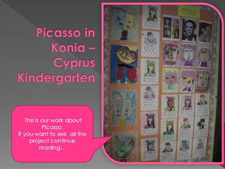 This is our work about Picasso. If you want to see all the project continue reading…