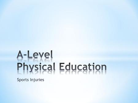 Sports Injuries. * Sports massage involves the use of massage techniques to muscles and connective tissue. * The benefits can be increased flexibility.