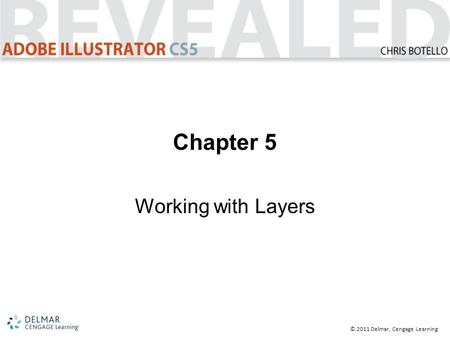 © 2011 Delmar, Cengage Learning Chapter 5 Working with Layers.