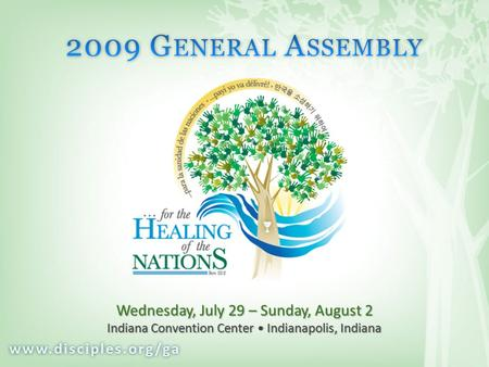 Wednesday, July 29 – Sunday, August 2 Indiana Convention Center Indianapolis, Indiana.
