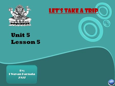 Unit 5 Lesson 5 Subtitle here By; I Wayan Parnata 2927.