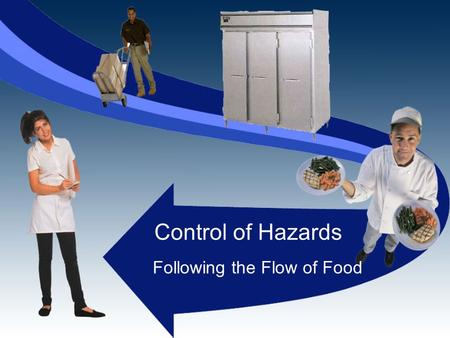 Control of Hazards Following the Flow of Food. Our Goal To provide good operating practices for food handlers to follow throughout the flow of food.