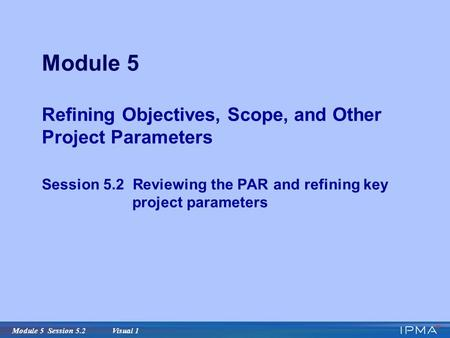 mgt599 module 2 session long project