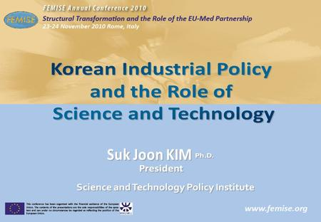 2 Contents 2 Major Economic Indicators and Driving Force of Growth 1 13 Major Industrial Policies and Achievements 2 25 <strong>Korea</strong> Innovative Capability.