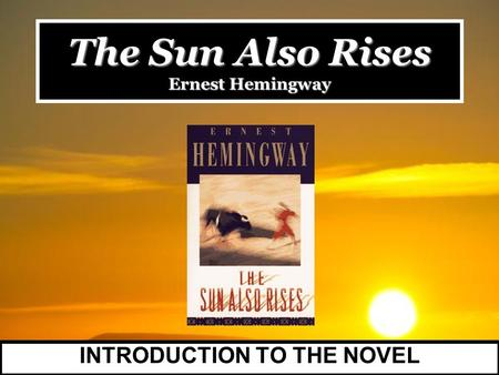 The hero in a farewell to arms by ernest hemingway