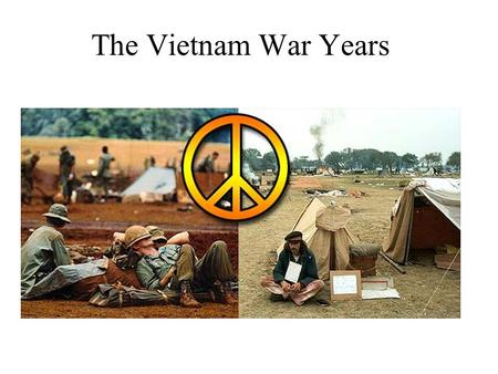 The Vietnam War Years. Vietnam history 1800's – WWII France rules over Vietnam as part of French Indochina. (Laos & Cambodia) WWII Japan takes Indochina.