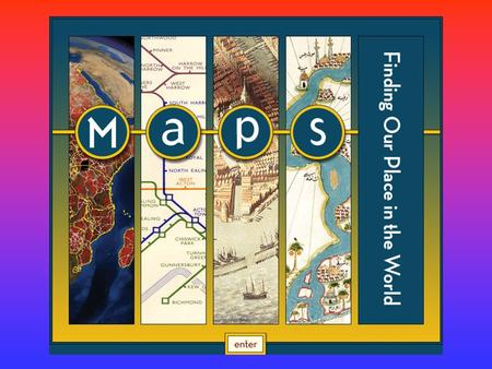 Types of Maps.