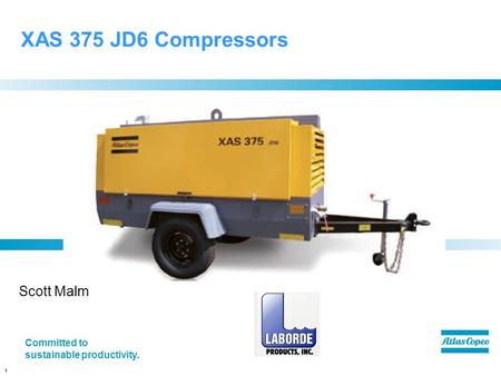 XAS 375 JD6 Compressors Scott Malm